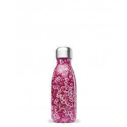 Bouteille isotherme Rose fleurie - 260 ml