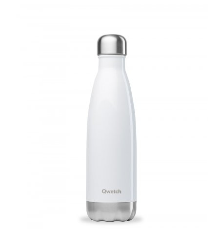 Bouteille isotherme - Blanc brillant - 500 ml