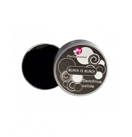Dentifrice solide Black is Black boite rechargeable - 20 g