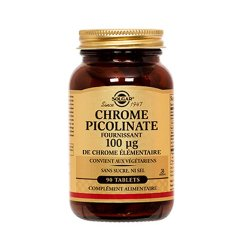 Chrome picolinate 100 µg - 90 tablettes