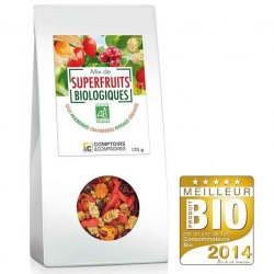 Mix de superfruits Bio - 125 g