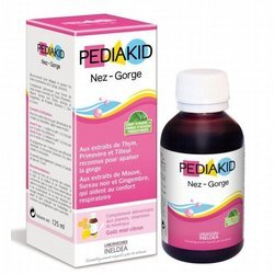Sirop Nez - Gorge Pediakid - 125 ml