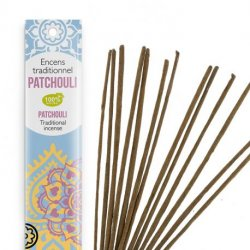Patchouli Tendre - Encens Indiens Haute tradition 20 bâtonnet